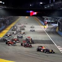 Vettelnek csak délibáb volt Button Szingapúrban