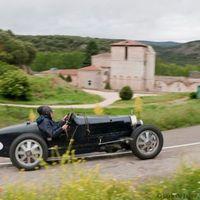 Eszterházy herceg Bugattija a Magyar Nagydíjon