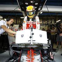 A McLaren besöpörte az első rajtsort Monzában