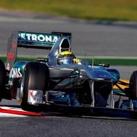 Rosberg és Petrov villantott a harmadik tesztnapon