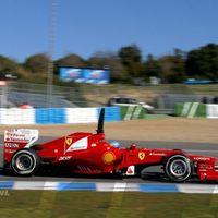 Vettel a harmadik idővel kezdett Jerezben