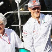 Ecclestone szerint hiba volt Schumacher visszatérése