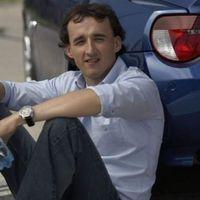 Kubica elesett, rásérült a sérült lábára