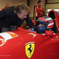 Berger újra F1-es Ferrarit vezetett Mugellóban