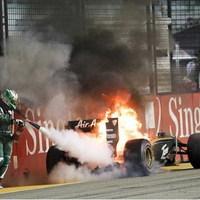 Kovalainen: dupla bért a tűzoltónak!