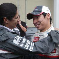 Egymillió fontnál tartanak Kobajasi F1-es karrierjének megmentői