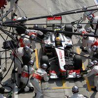 Olasz GP: Pérez lett a szalámi a McLaren-Ferrari szendvicsben