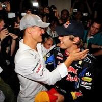 Vettel szívesen látja Schumachert – a második helyen