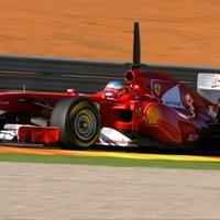 A nap képe: Ferrari F150 Valenciában