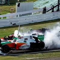 A nap képe: Massa és Liuzzi karambolja Japánban