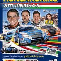 Elkészült a hungaroringi WTCC-futam plakátja!