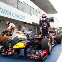 Vettel: négyből négy pole Szuzukában!