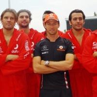 F1: Button a víz mellől hódolt a pólósoknak