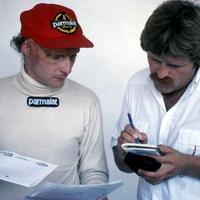 A nap képe - Lauda és Haug, 1982