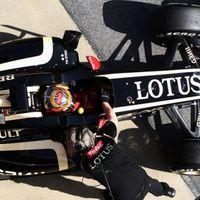 Grosjean és a Lotus továbbra is az élen Barcelonában