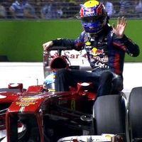 Webber rajtbüntetést kapott a szingapúri stoppolásért