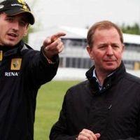 Brundle szerint Kubica őrült, de újra tudja mozgatni a kezét