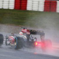 Grosjean megint duplázott, Rosberg rekordra hajt Barcelonában