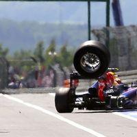 Ecclestone (depó)falhoz szorítja az operatőröket a nürburgringi baleset után