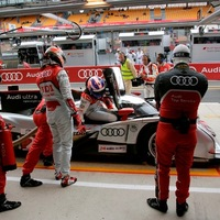 Az Audié a pole pozíció Le Mans-ban