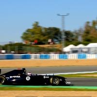 Esőben ért véget a tesztelés Jerezben