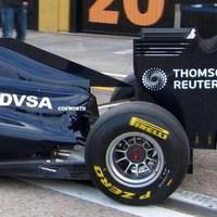 A Williams odavágott az aerodinamikának!