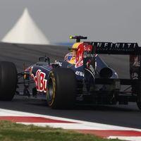 Négy Red Bull rajtol a legjobb 10-ből Indiában