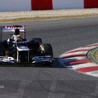 Villantott a Williams a barcelonai teszten