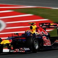 Webber idén először Vettel előtt az időmérőn Barcelonában