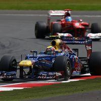 Webber nyerte Alonso versenyét Silverstone-ban