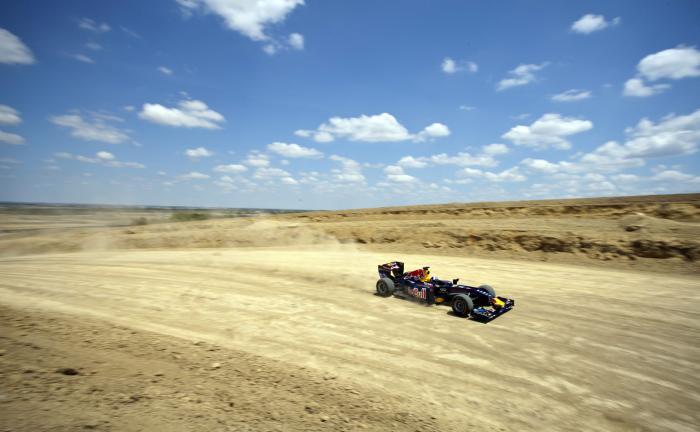 Red Bull demó David Coultharddal a texasi Austinban