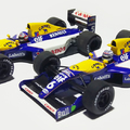 Matricázás – Williams FW14