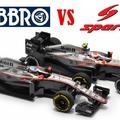 Modell párbaj – McLaren MP4/30 Ebbro vs Spark