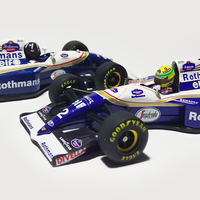 Matricázás – Williams FW16