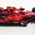 Átalakítás – F2008 Schumacher tesztautó