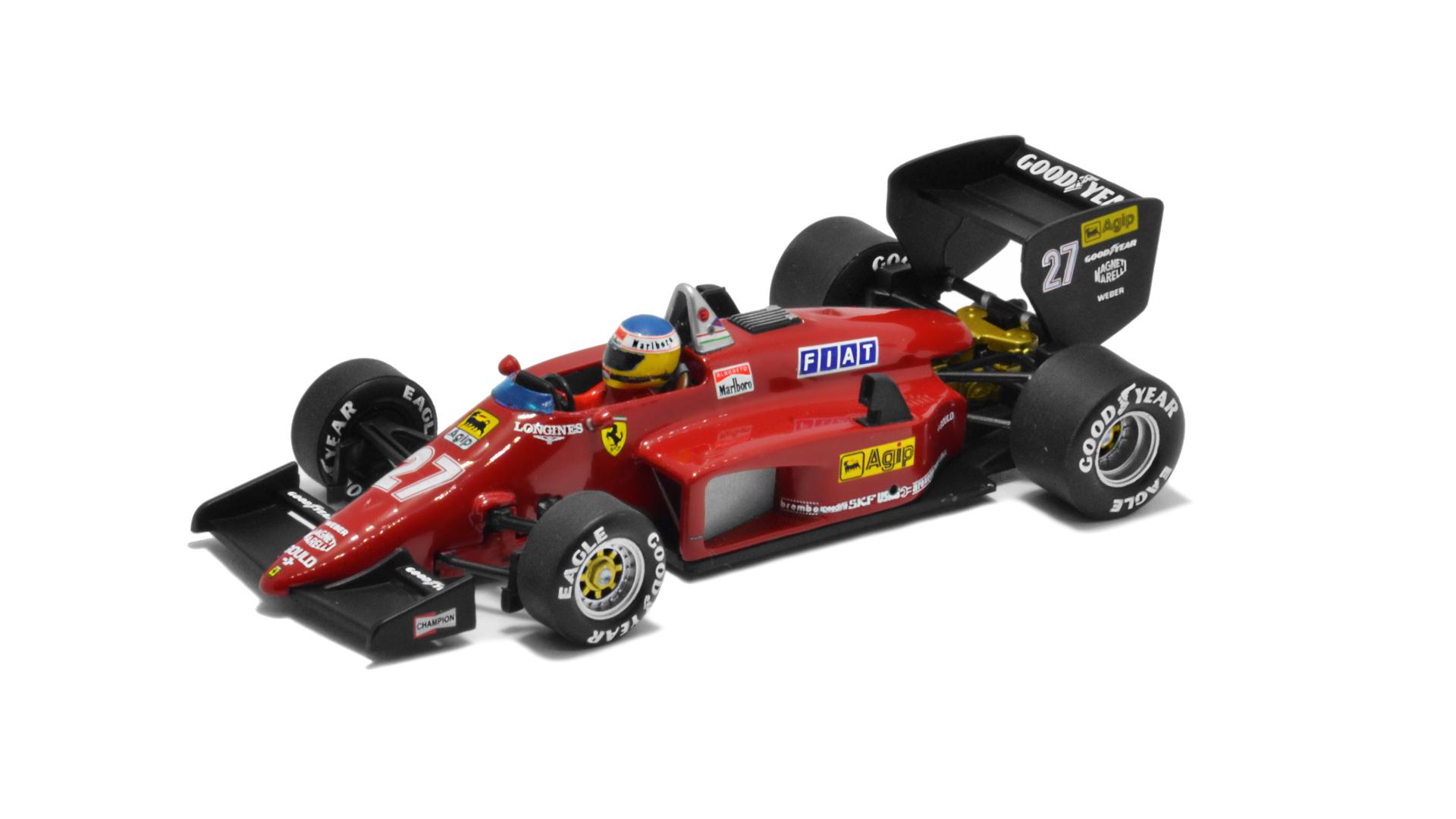 Év: 1985<br />Modell: 156/85<br />Gyártó: Hot Wheels Elite (átalakított)<br />Pilóta: Michele Alboreto