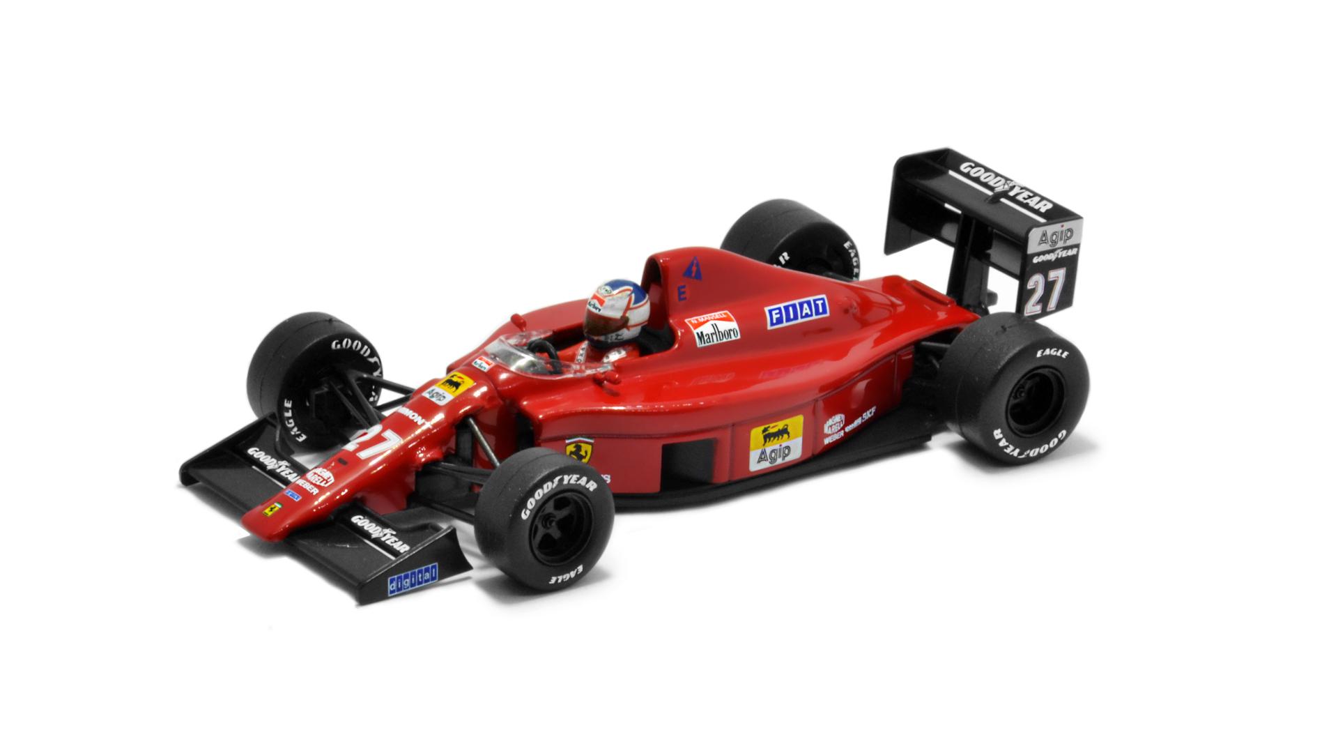 Év: 1989<br />Modell: 640<br />Gyártó: Altaya (átalakított)<br />Pilóta: Nigel Mansell