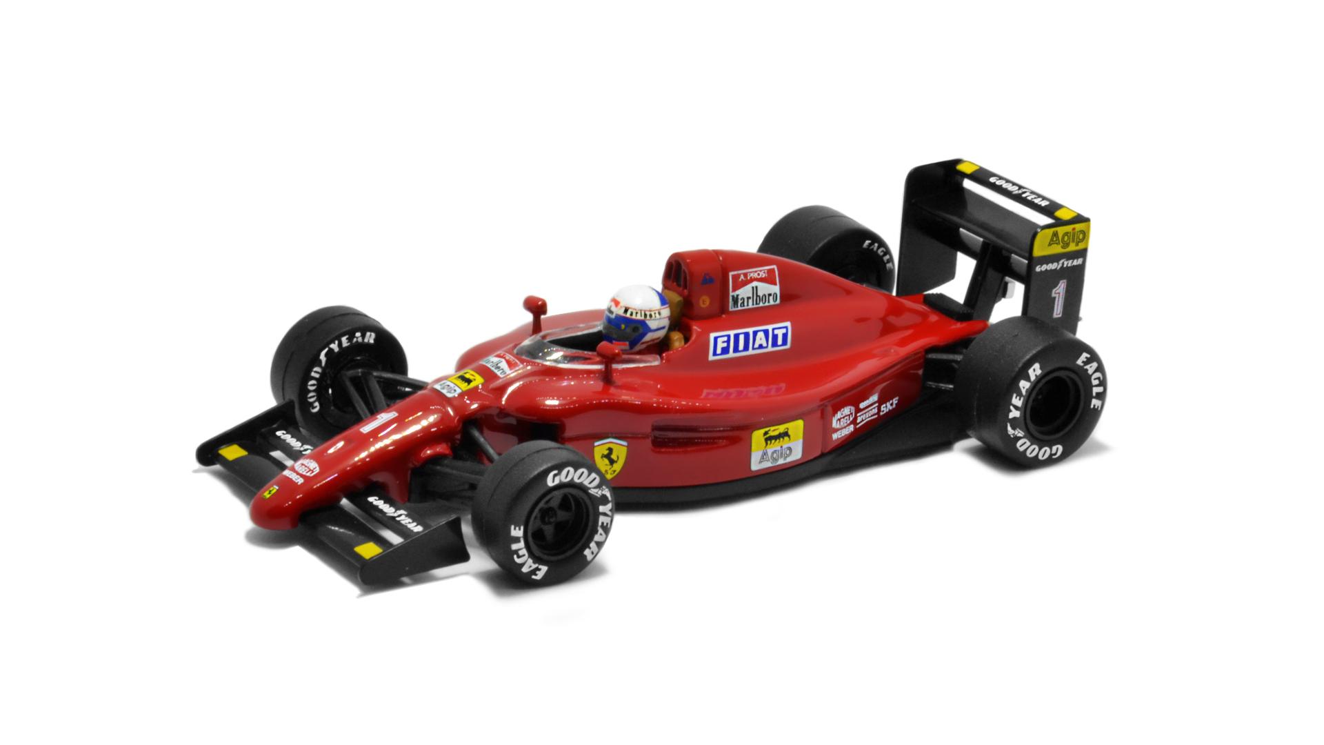Év: 1990<br />Modell: 641<br />Gyártó: Altaya (átalakított)<br />Pilóta: Alain Prost