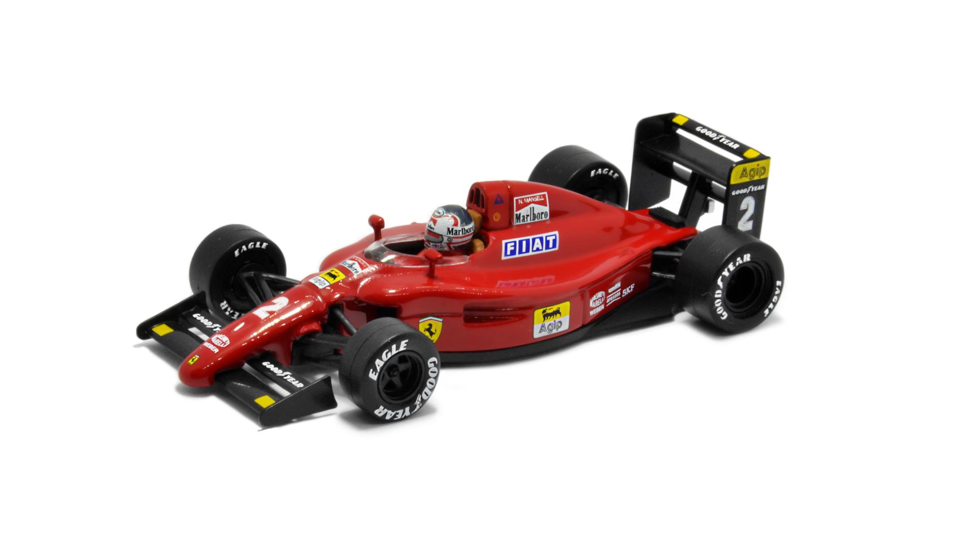 Év: 1990<br />Modell: 641<br />Gyártó: Altaya (átalakított)<br />Pilóta: Nigel Mansell