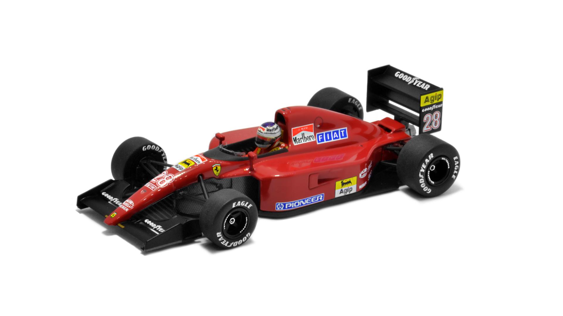Év: 1991<br />Modell: 643<br />Gyártó: Hot Wheels Elite (átalakított)<br />Pilóta: Jean Alesi