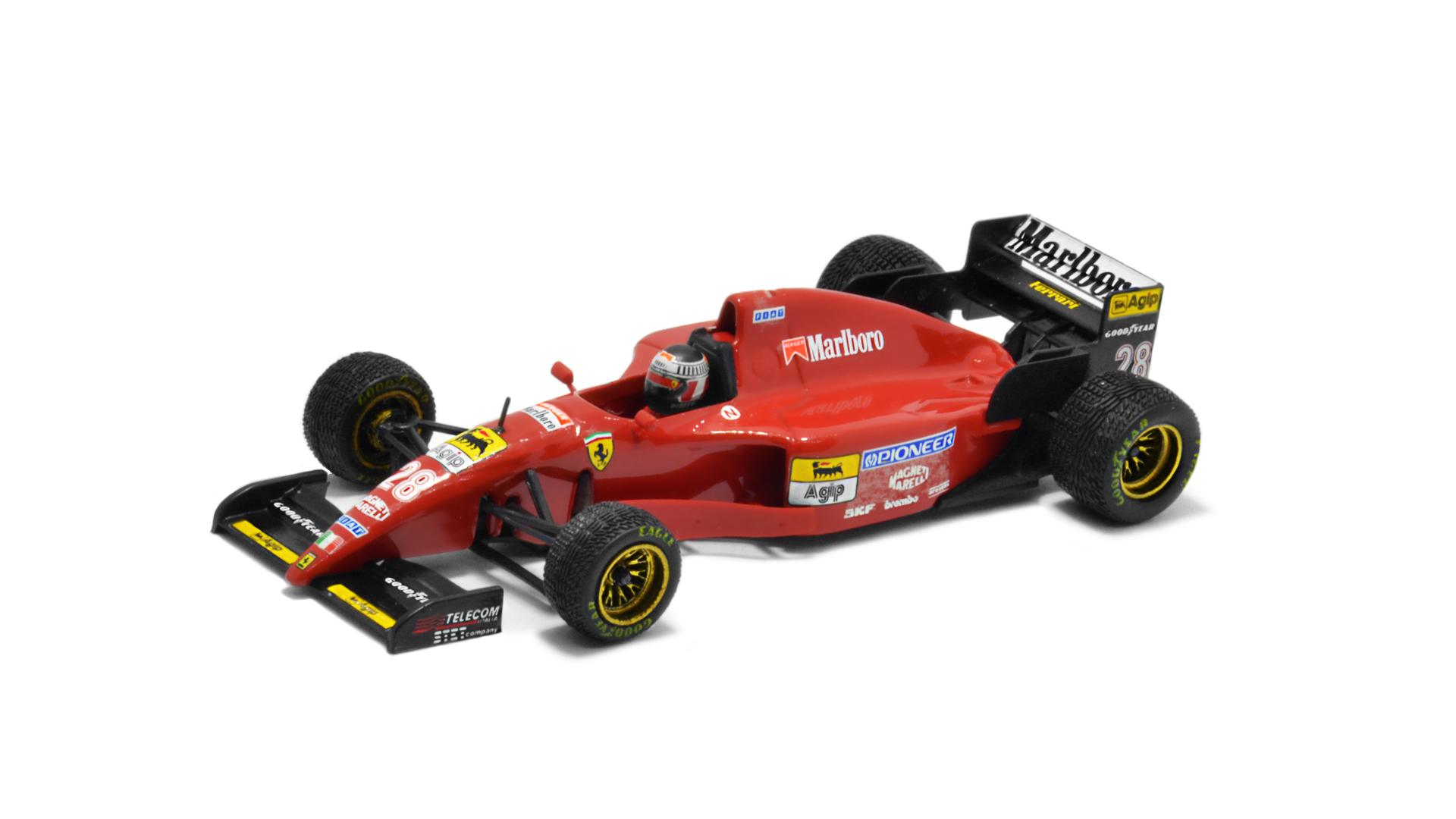 Év: 1995<br />Modell: F412T2<br />Gyártó: Onyx<br />Pilóta: Gerhard Berger