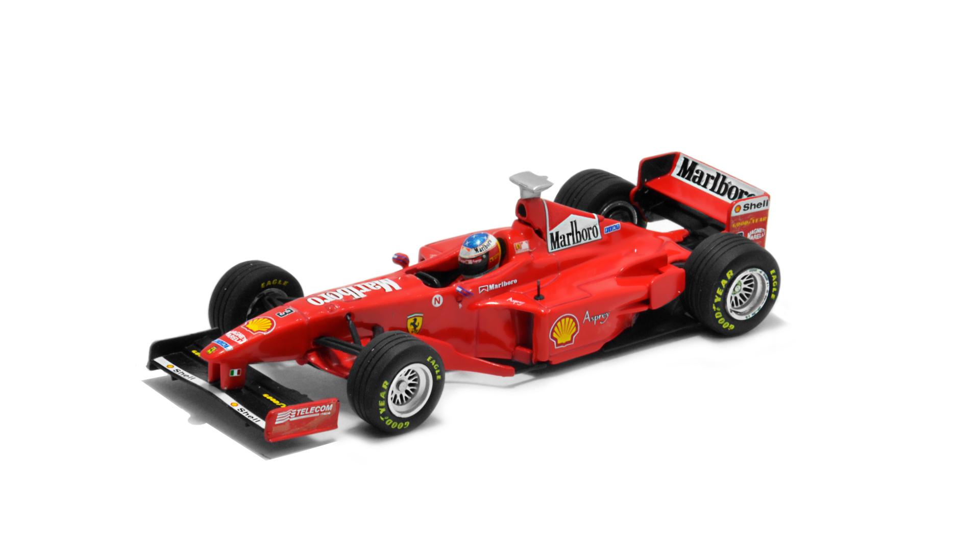 Év: 1998<br />Modell: F300<br />Gyártó: Minichamps<br />Pilóta: Michael Schumacher