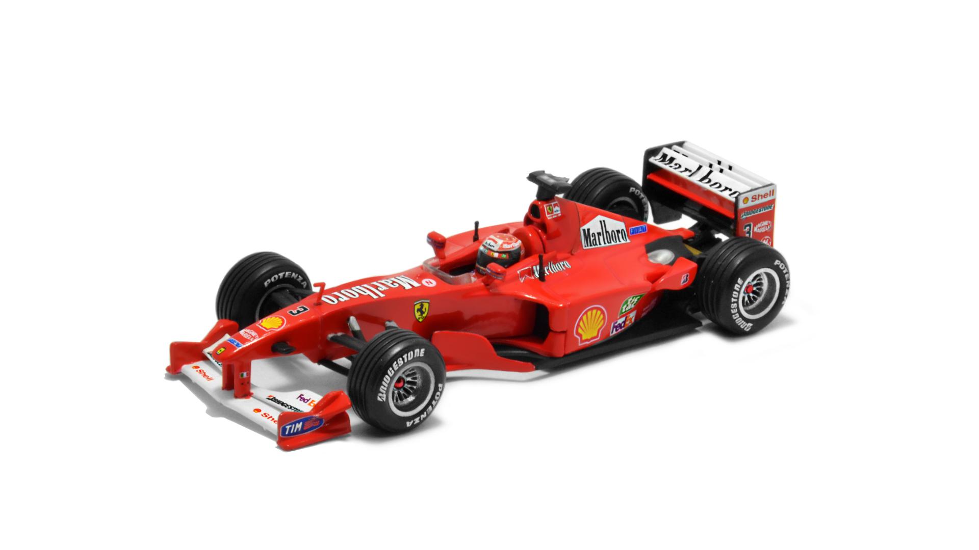 Év: 2000<br />Modell: F1-2000<br />Gyártó: Hot Wheels<br />Pilóta: Michael Schumacher