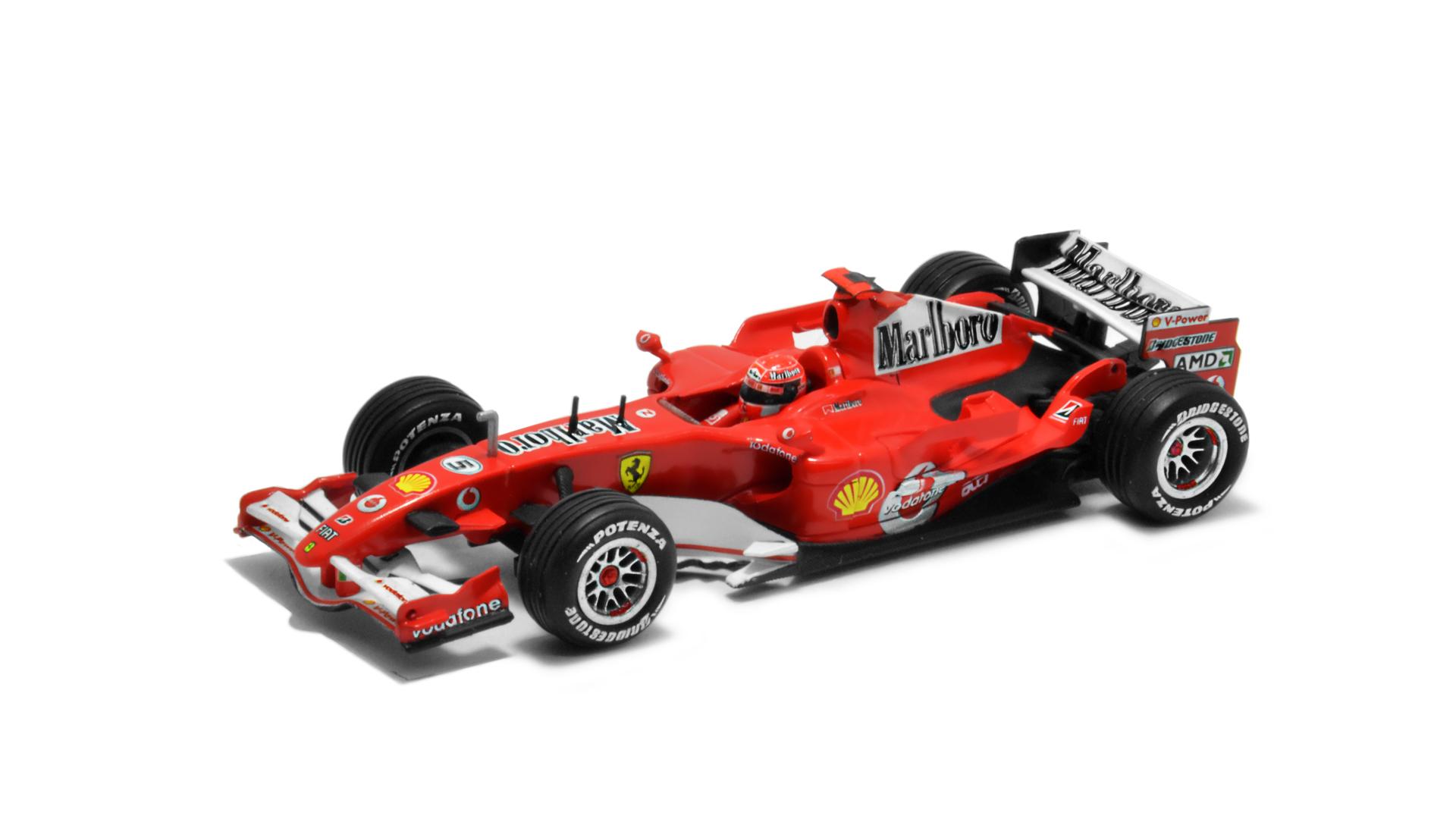 Év: 2006<br />Modell: 248 F1<br />Gyártó: Hot Wheels<br />Pilóta: Michael Schumacher