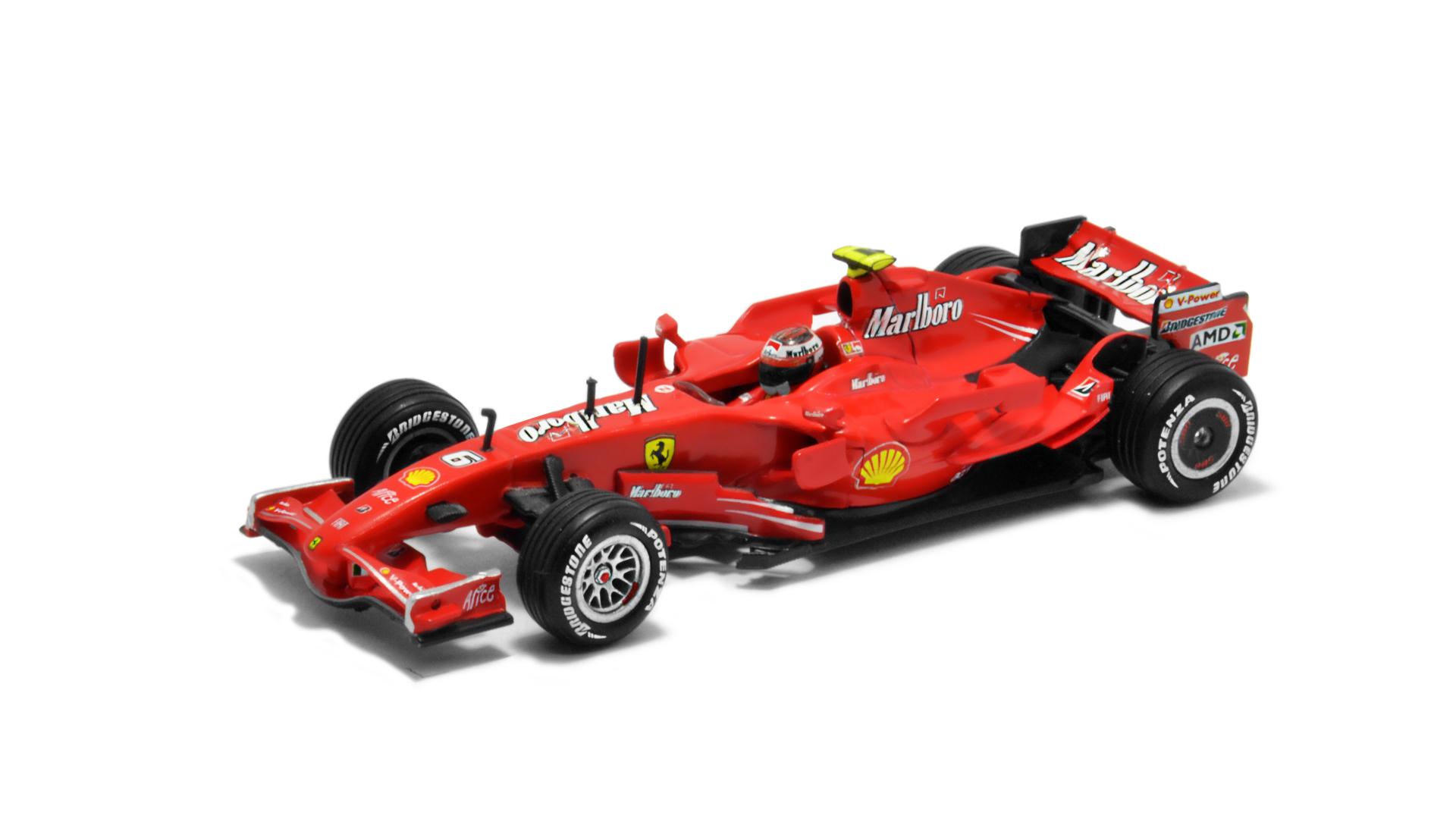 Év: 2007<br />Modell: F2007<br />Gyártó: Hot Wheels<br />Pilóta: Kimi Räikkönen