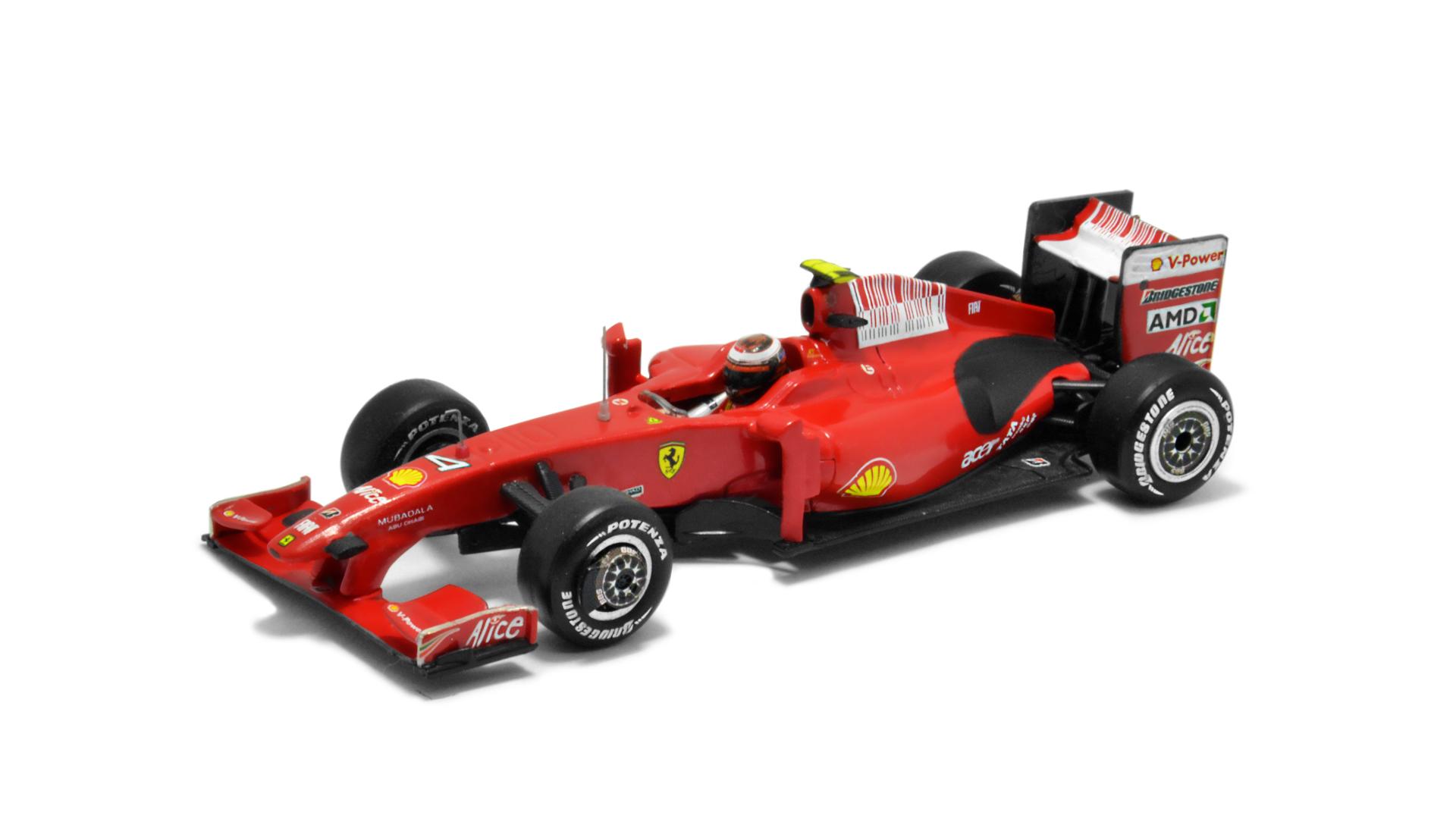 Év: 2009<br />Modell: F60<br />Gyártó: Hot Wheels<br />Pilóta: Kimi Räikkönen