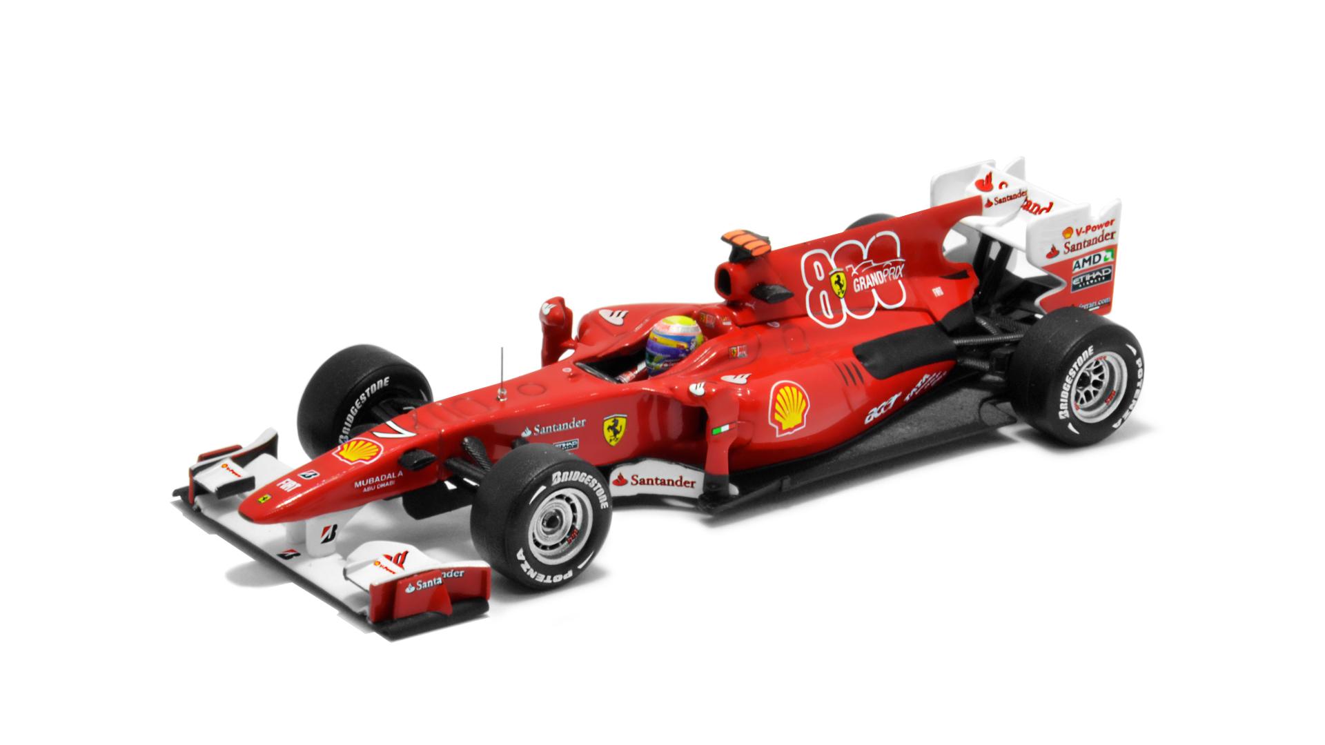 Év: 2010<br />Modell: F10<br />Gyártó: Hot Wheels<br />Pilóta: Felipe Massa