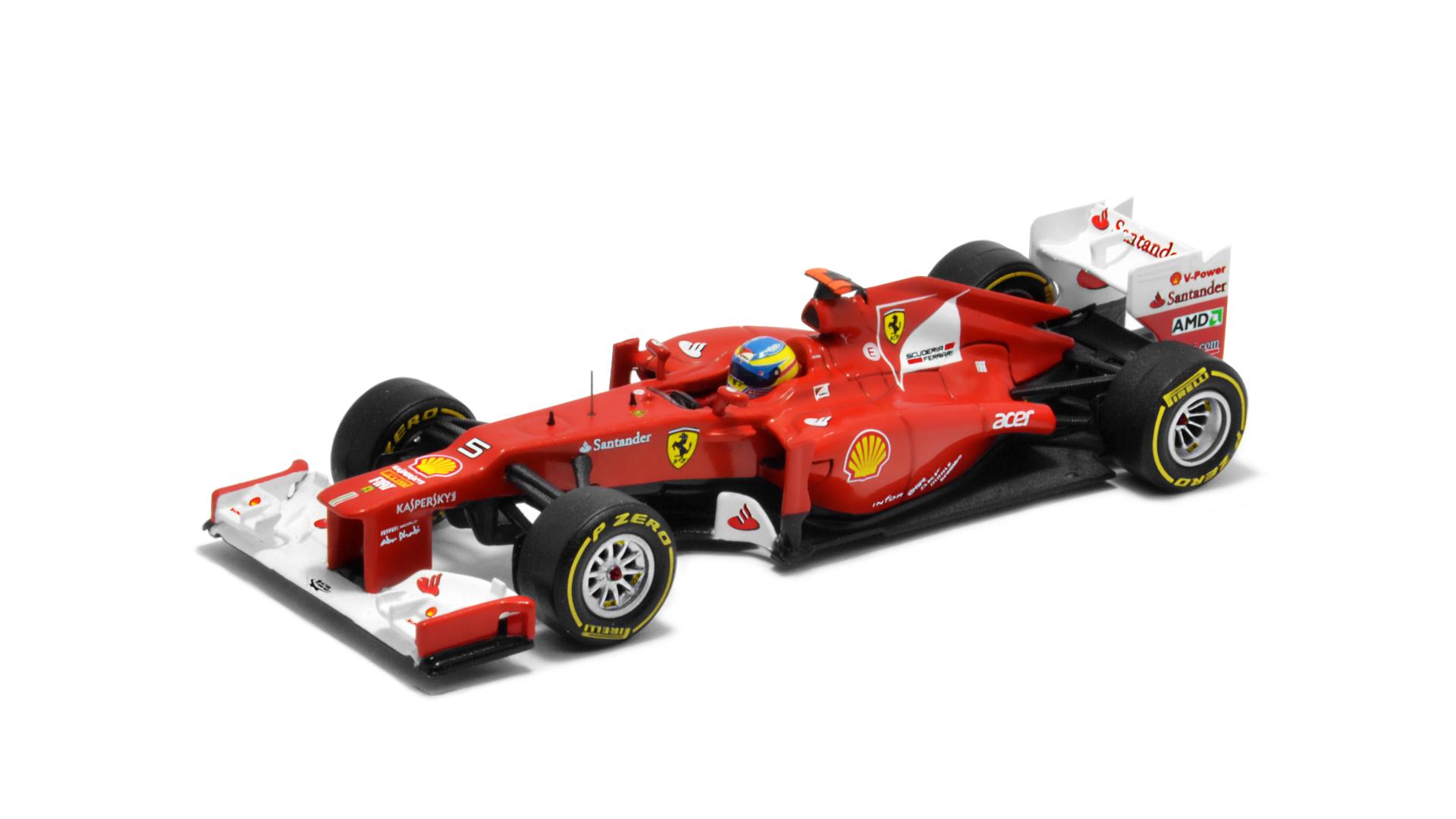 Év: 2012<br />Modell: F2012<br />Gyártó: Hot Wheels<br />Pilóta: Fernando Alonso