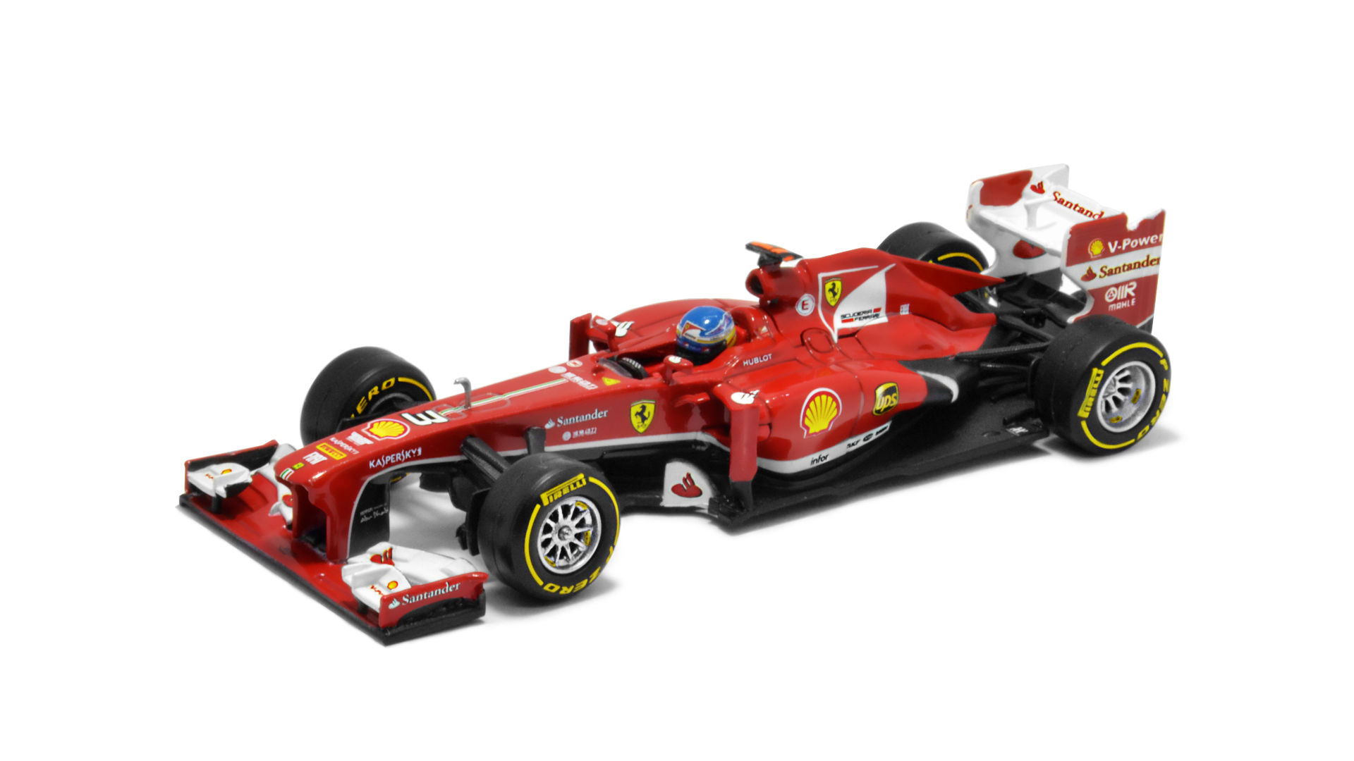 Év: 2013<br />Modell: F138<br />Gyártó: Hot Wheels<br />Pilóta: Fernando Alonso