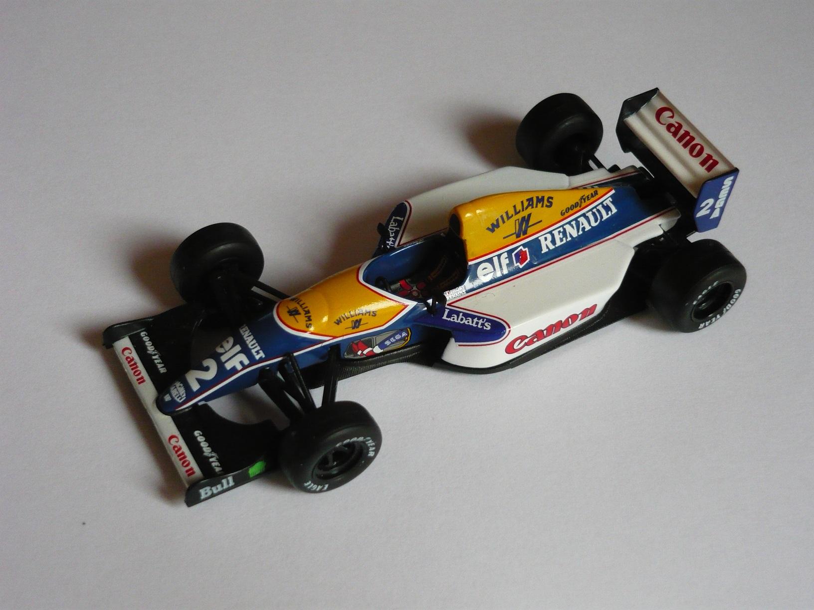 Szintén 1993-as autó, Prost Williams FW15-ese.